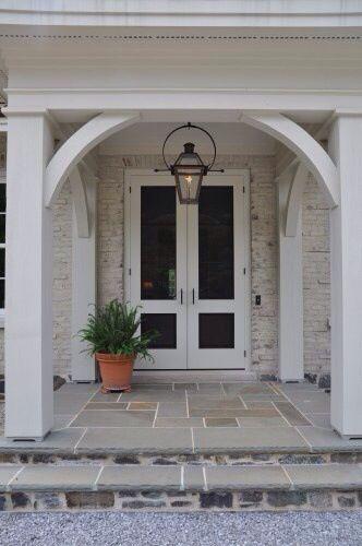Love The Arched Doorway French Doors Exterior House Exterior