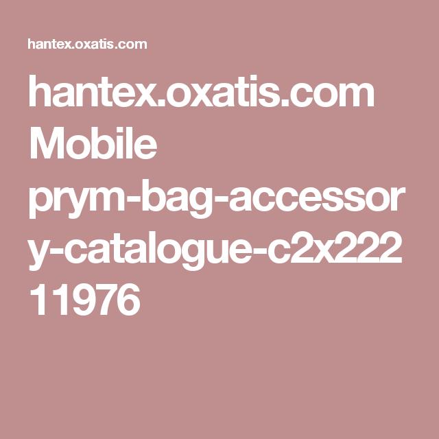 hantex.oxatis.com Mobile prym-bag-accessory-catalogue-c2x22211976