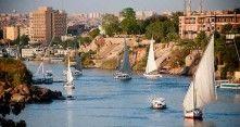 Egypti on eksoottinen lomakohde kohtuullisen lentomatkan päässä.