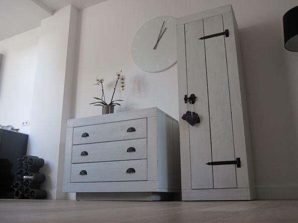 zo de steigerhouten babykamer meubels zijn klaar. nogmaals, ze, Deco ideeën