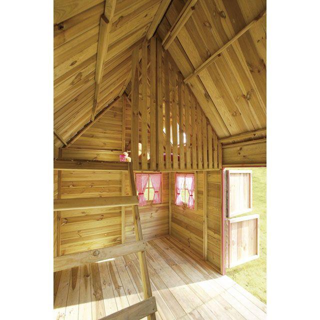 maisonnette en bois cerland rosalie en 2018 maisonnette. Black Bedroom Furniture Sets. Home Design Ideas