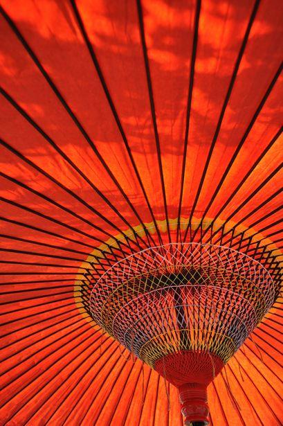Japanese umbrella |
