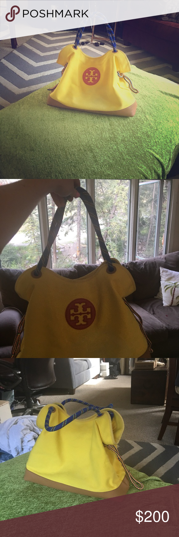 749c9f6cc782 Tory Burch Kellyn Canvas Tote Bag