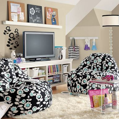 Such A Cute Idea With The Chairs Tween Room Room