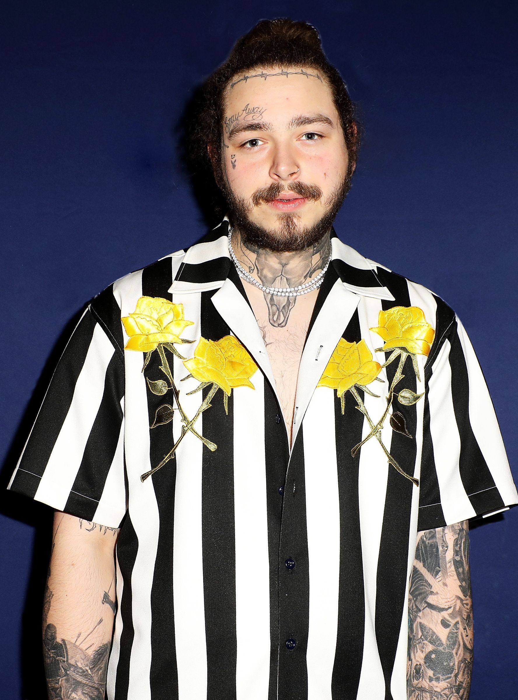 Post Malone Found The Best Way To Hide His UnderEye