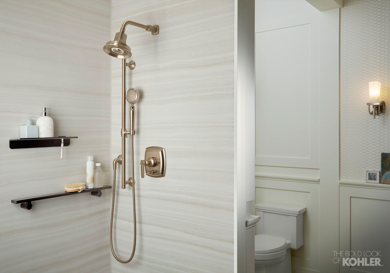 Nantucket Prep Bathroom  Kohler Ideas  Sophisticated bathroom