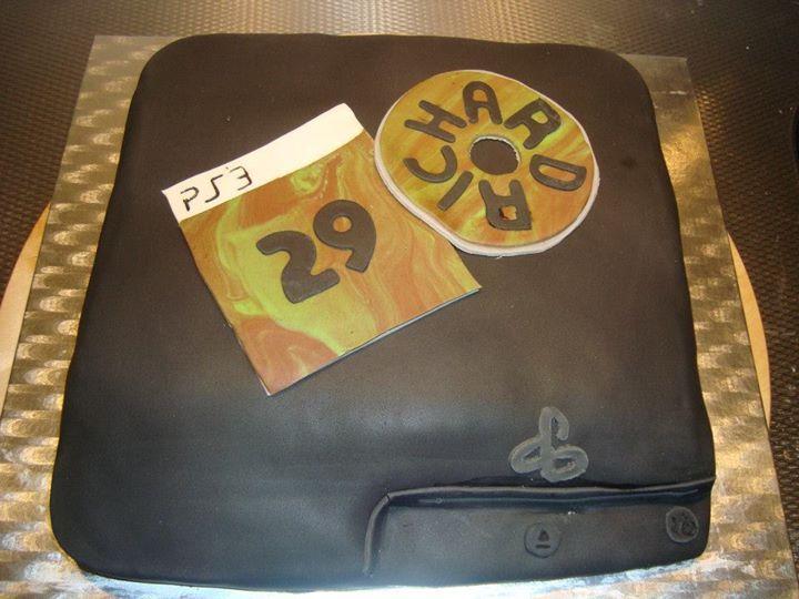 Playstation Taart