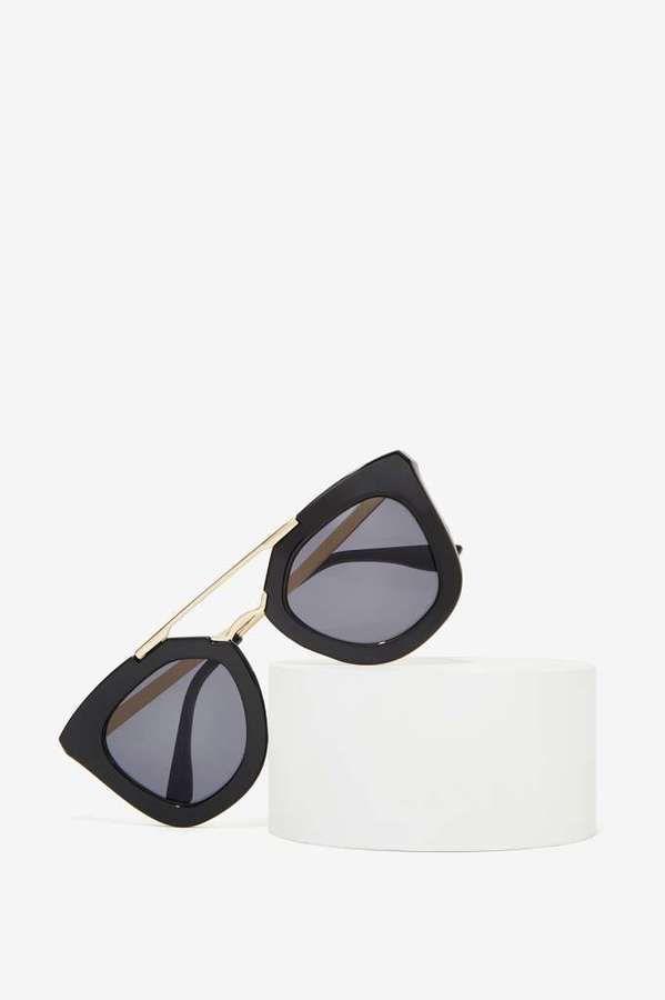 116231f475899 Nasty Gal Factory Bueller II Shades. Nasty Gal Factory Bueller II Shades  Oculos De Sol Prada