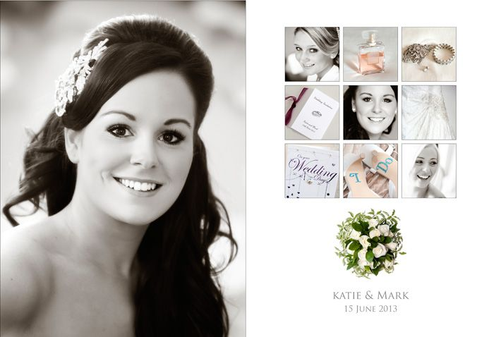 katie and mark sample wedding album designs