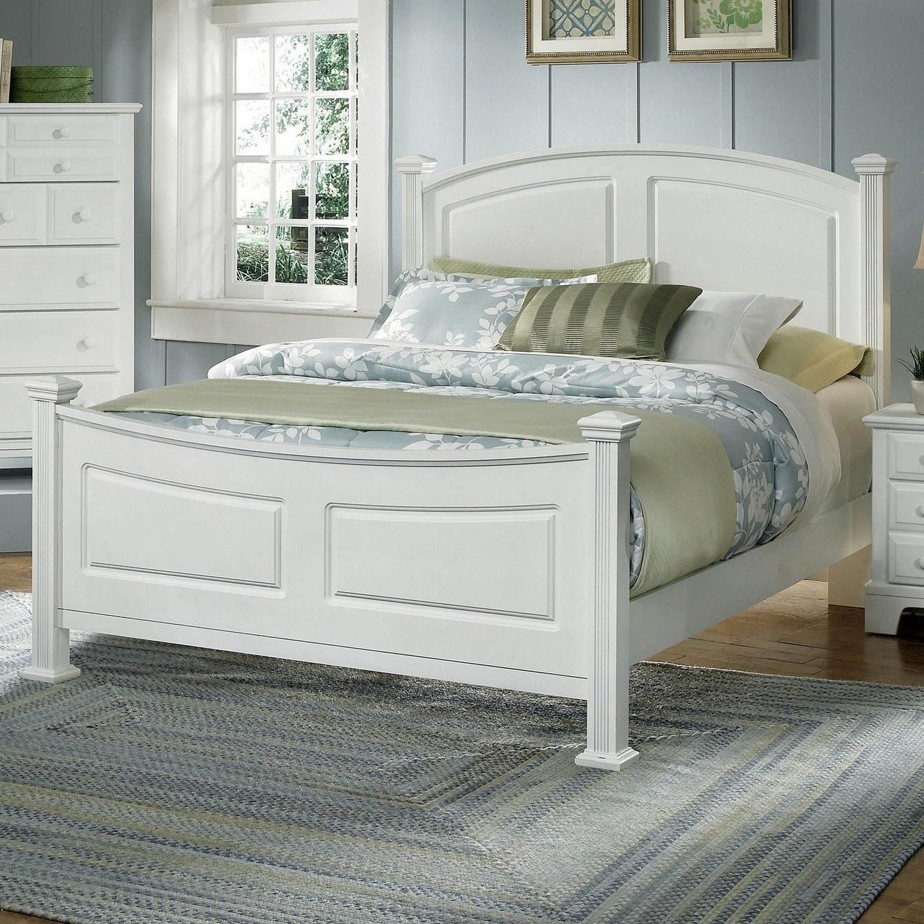 Hamilton Franklin King Panel Bed By Vaughan Bassett
