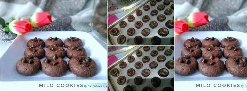 Resep Milo Cookies Kue Kering Kue Resep