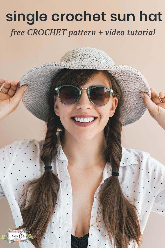 Crochet June Sun Hat Crochet Pinterest Crochet Crochet Hats