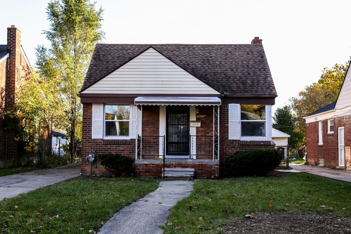 This Recently Renovated Two Story Single Family Brick Ranch On
