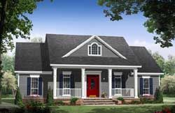 Country Style House Plans - 3175 Square Foot Home , 2 Story, 3 ...
