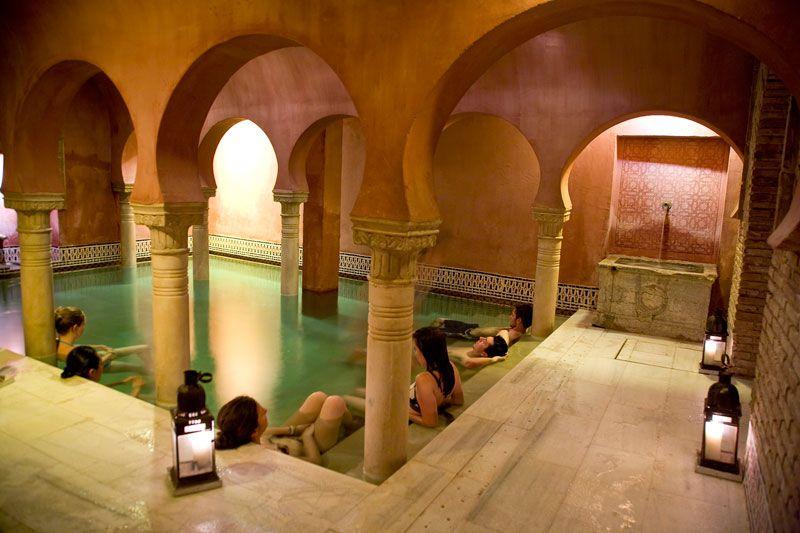 Banos Arabes Hamman Granada Con Imagenes Banos Arabes Casas