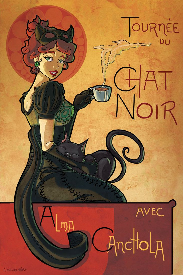 tribute_to_chat_noir_poster_by_canchola-d6a0alv.jpg (730×1095) | Le ...