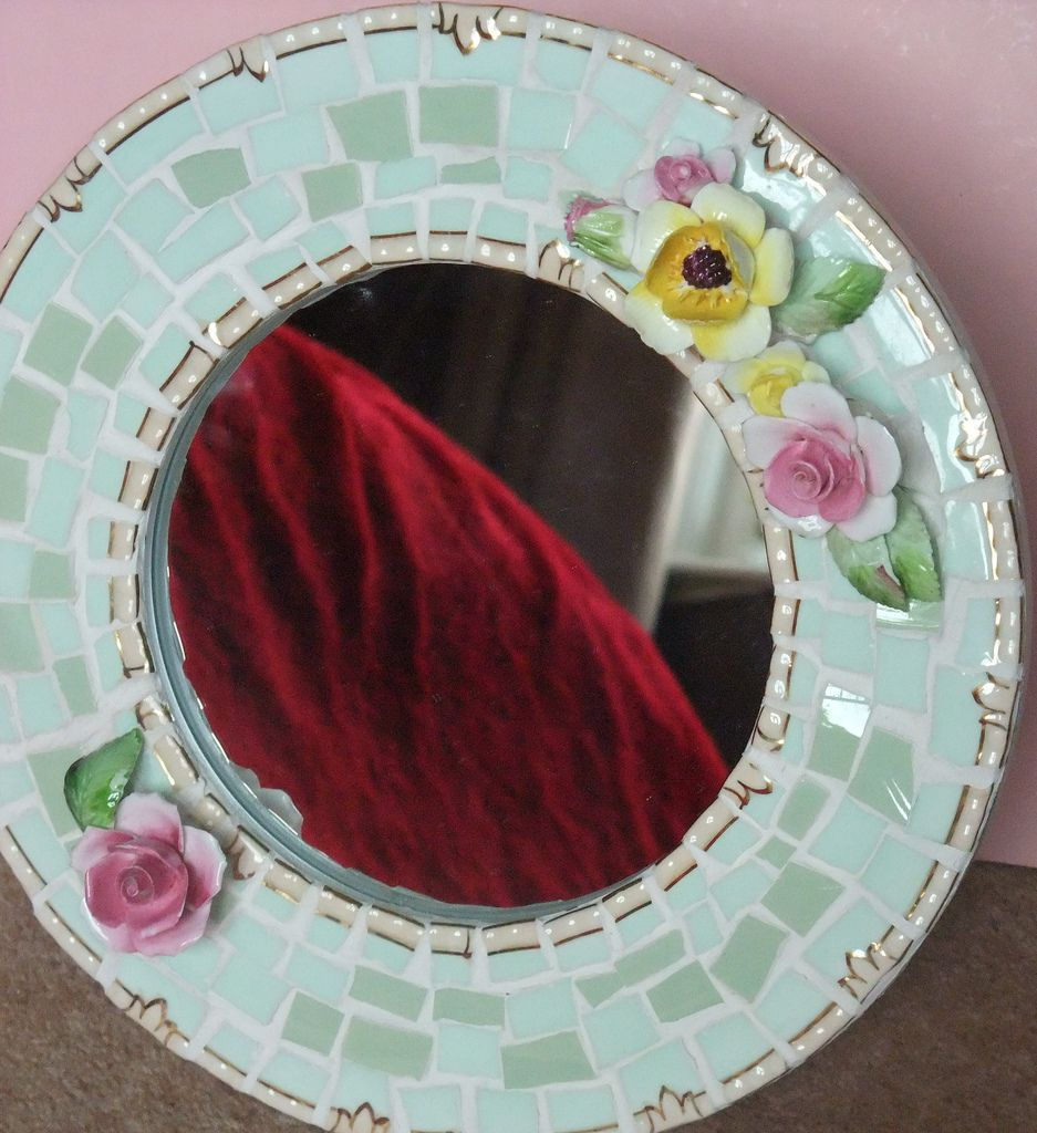 Round flower frame flower frame mosaics and flower round flower frame by breaking bad mosaics jeuxipadfo Choice Image
