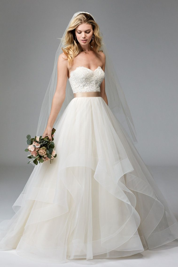 Rowena brides wtoo by watters wedding dress pinterest