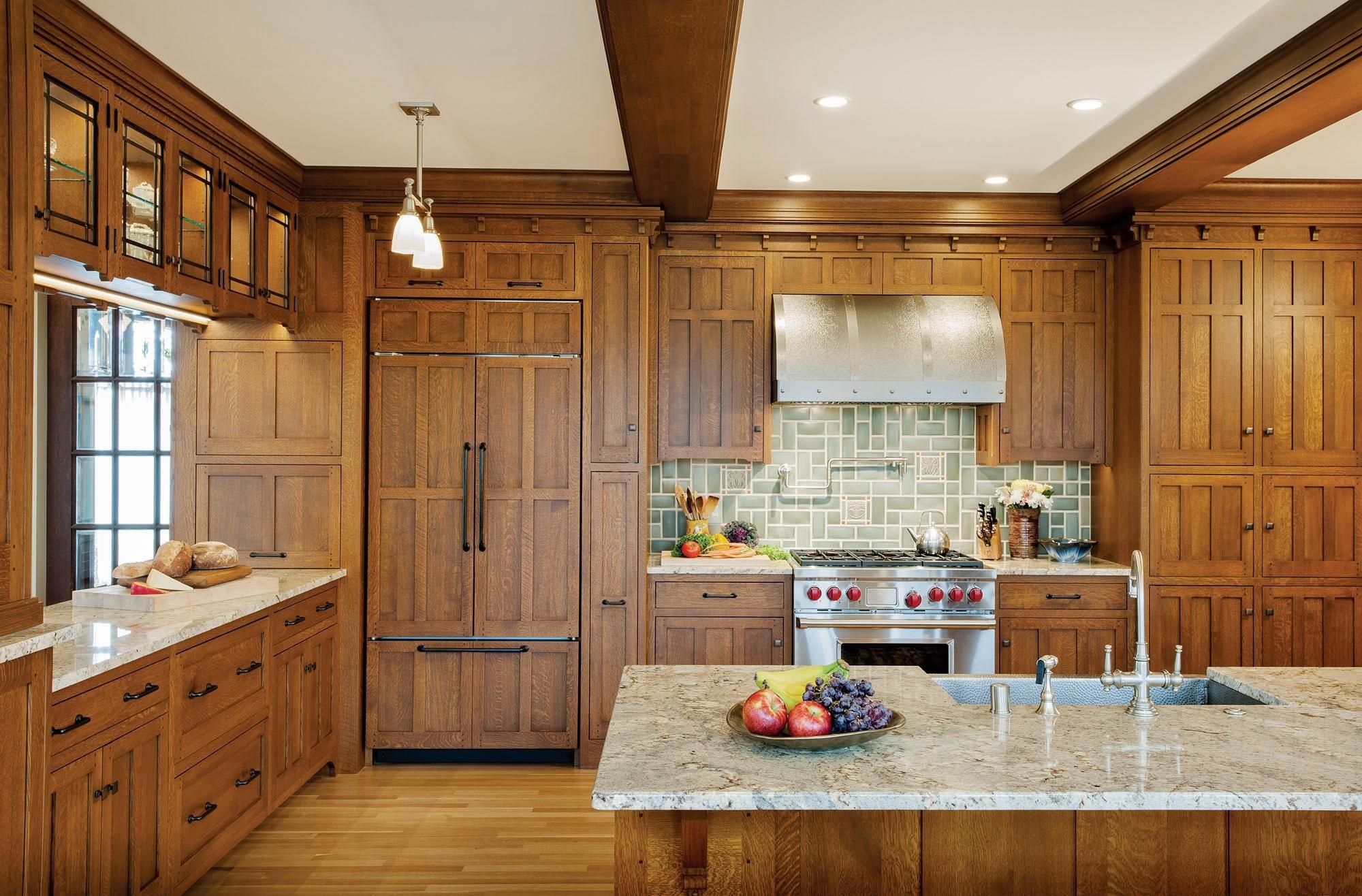 Craftsman Kitchen With Images Craftsman Kitchen Modern Kitchen Design Kitchen Restoration