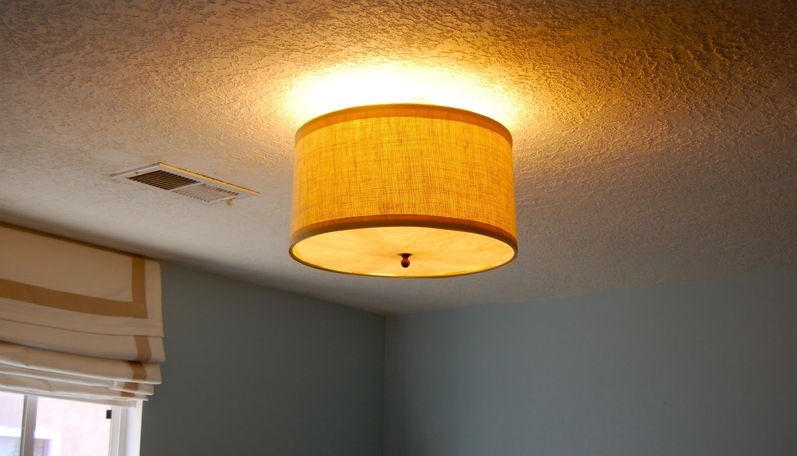 Drum shade ceiling light cover httpcreativechairsandtables drum shade ceiling light cover aloadofball Images