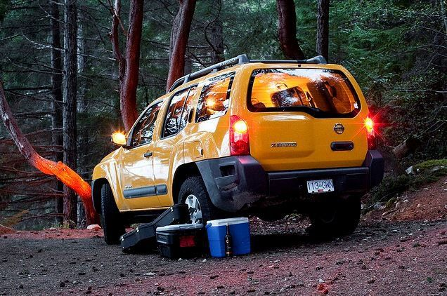 camping head quarters! Yes, please! Nissan xterra, North