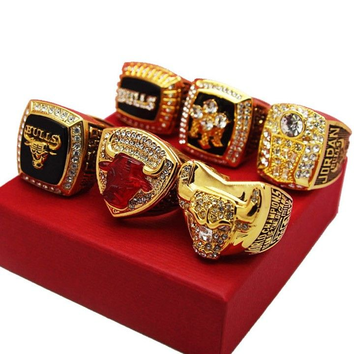Chicago Bulls Custom Replica Championship Rings