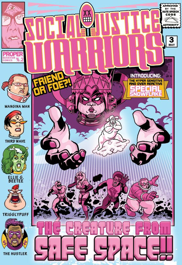 Social Justice Warriors 3 By Lord Solar On Deviantart Social Justice Warrior Social Justice Comics