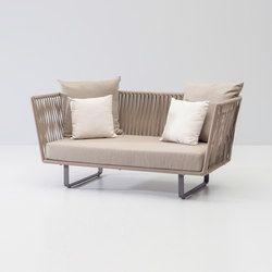 Awesome Bitta 2 Seater Sofa | Garden Sofas | KETTAL