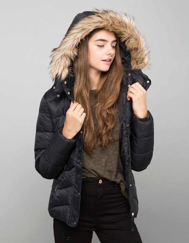 BSK kapüşonlu ceket naylon