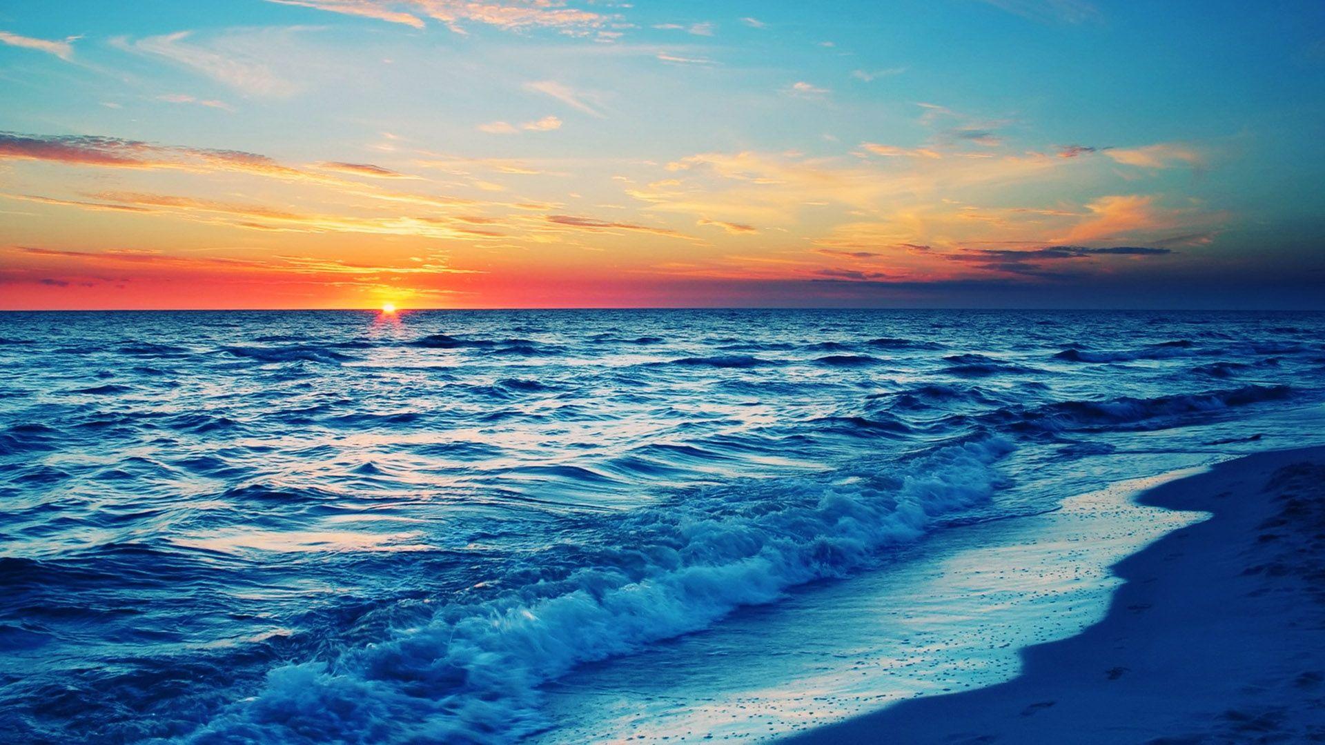 Beach At Night Wallpaper Hd Wallpaper Beach Wallpaper Beach Sunset Wallpaper Beautiful Ocean Pictures Evening beach scenery wallpaper