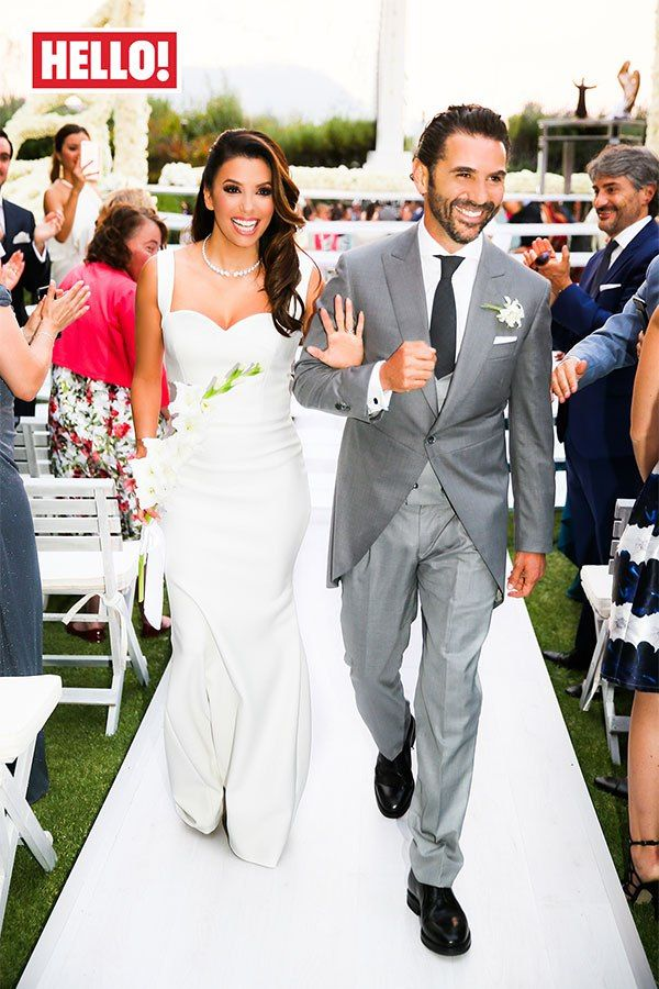 Best celebrity weddings of 2016 fashion style mag eva for Eva my lady wedding dress