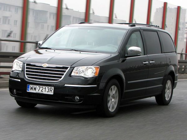 Chrysler Voyager 2013 Black