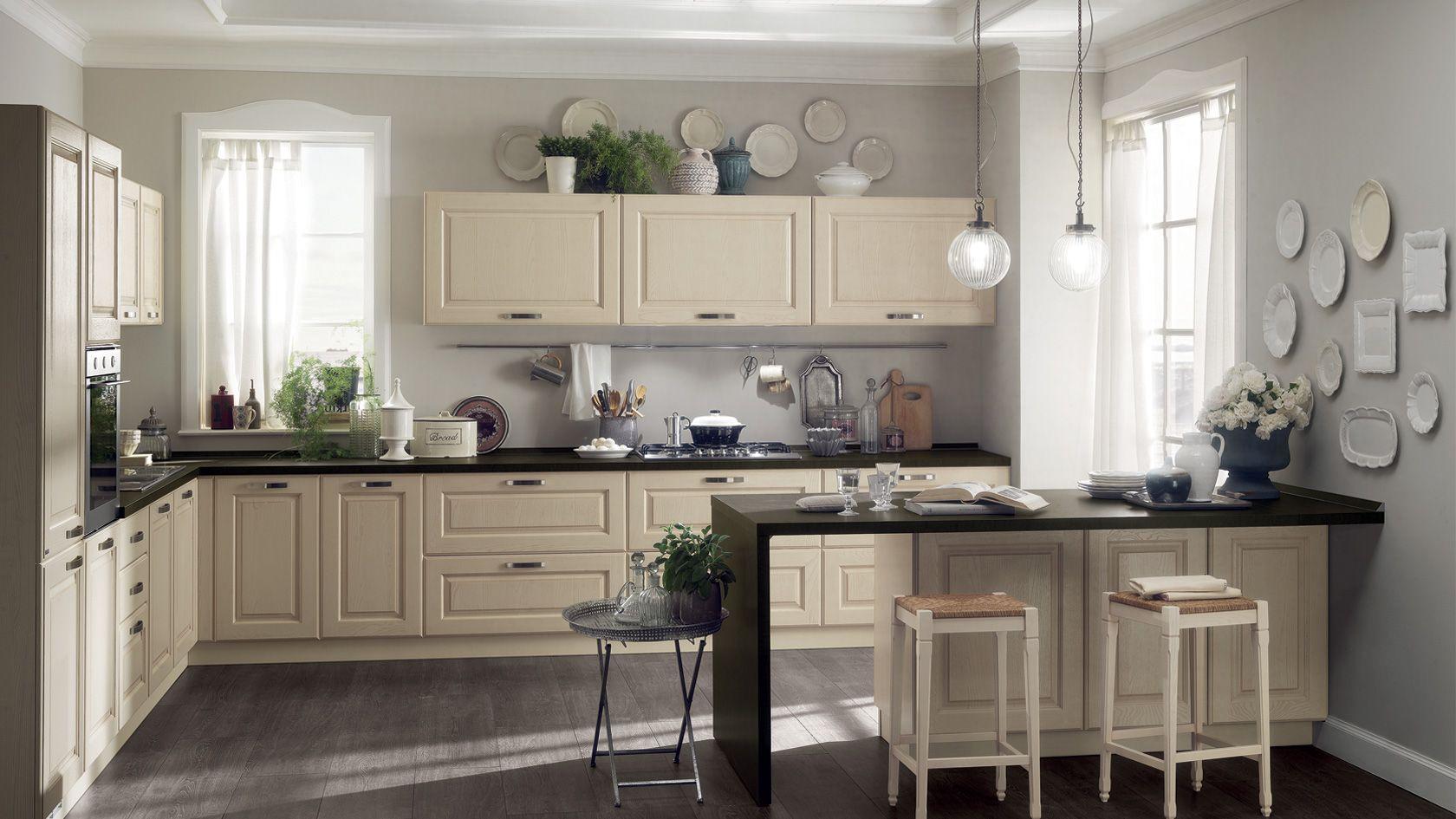 Cucina in legno Madeleine | Sito ufficiale Scavolini | Home ideas ...