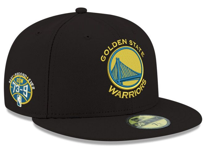 outlet for sale popular stores best Golden State Warriors New Era NBA GSW 73-9 Collection 59FIFTY Cap ...