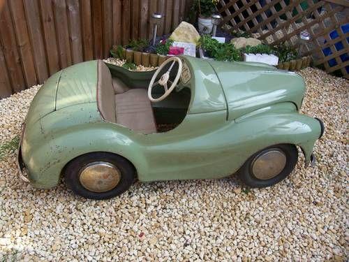 Austin J40 Original Pedal Car Sold 1967 Pedal Cars Vintage Pedal Cars Toy Pedal Cars