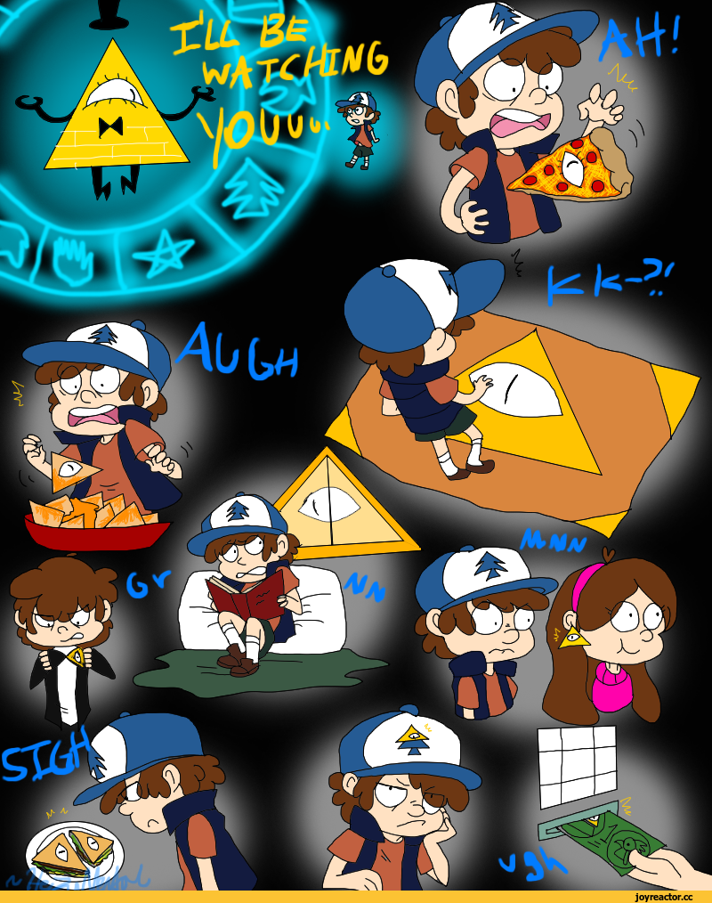 Gravity falls bill cipher I'll be watching you ! | Gravity ...