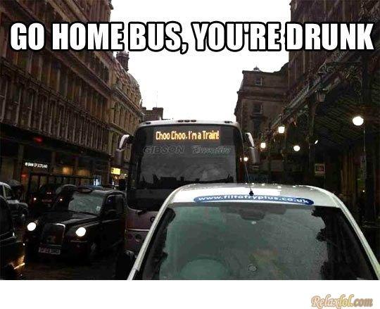 Bus, go home