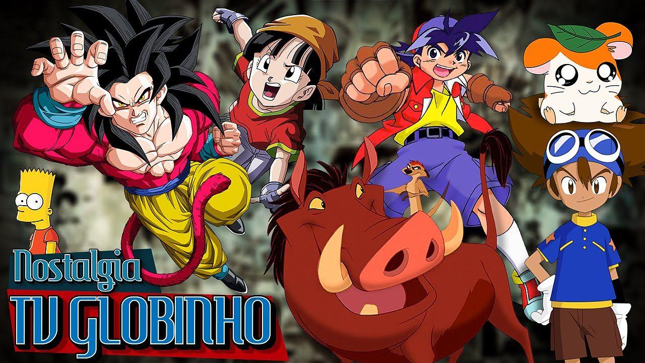 Tv Globinho Nostalgia Nostalgia Globo Desenhos
