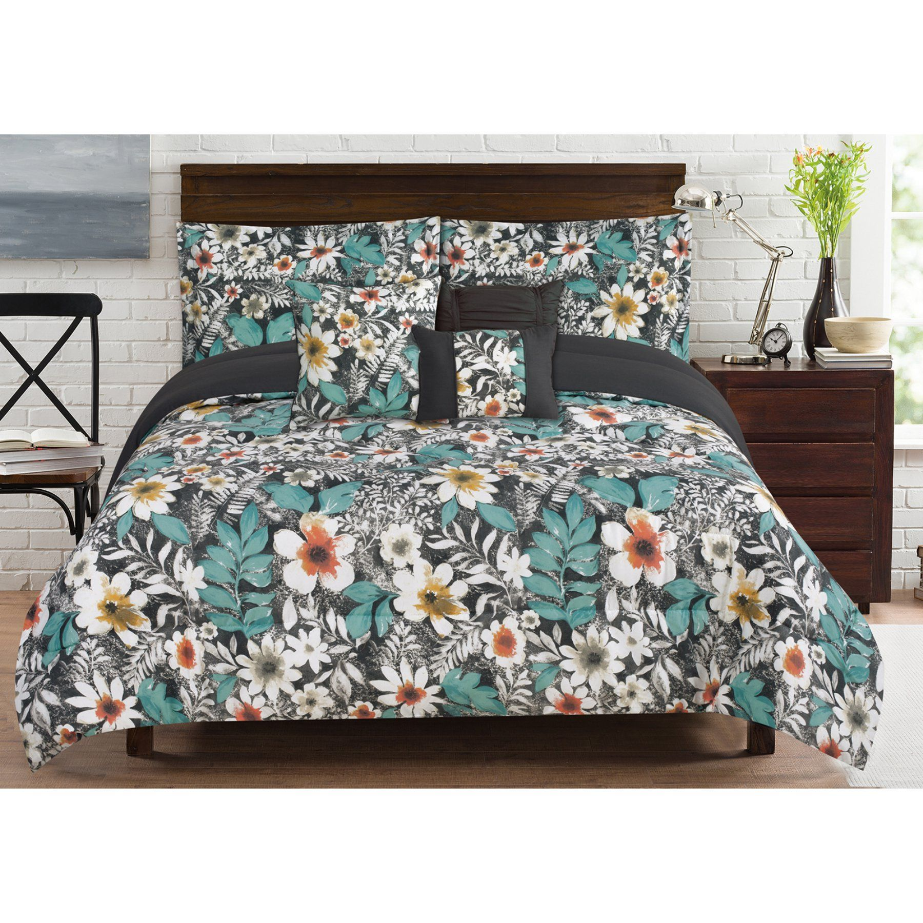 Bloomfield 6 Piece Comforter Set By Rt Designers Collection