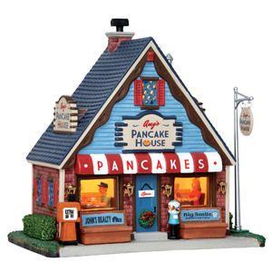 Christmas Village Building Amy'S Pancake House - Sears | Christmas ...