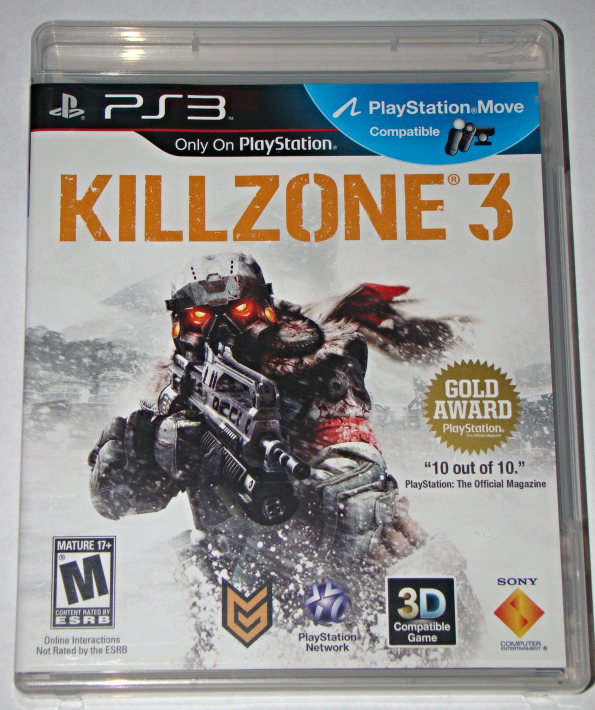 Playstation 3 Kill Zone 3 Complete With Manual Ps3 Games Playstation Video Games Ps3