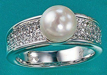 Damen-Ring 42 Diamant-Brillanten 14 Karat (585) Weißgold Akoya-Zuchtperle 0.275 ct. 56 (17.8) Dreambase, http://www.amazon.de/dp/B00AWABG24/ref=cm_sw_r_pi_dp_nnV9sb1E4QFS4