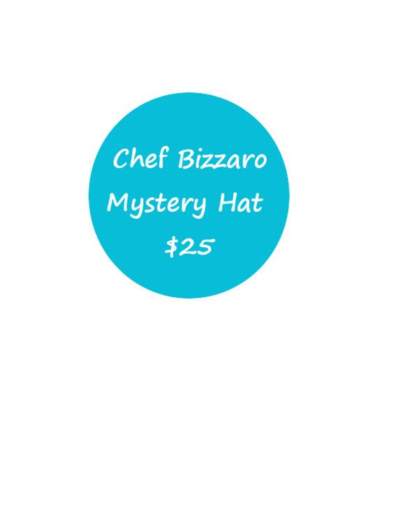 Mystery Hat Cocktail Hat Pillbox Fascinator or by ChefBizzaro, $25.00 All funds go towards my Kickstarter!