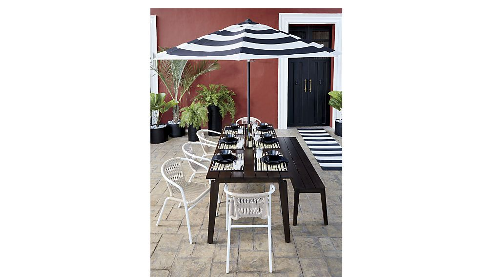 artemisrectdiningtablerexOFB17 | Outdoor wood dining table