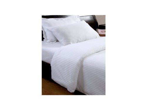 Homescapes 330 Thread Count ( Non Twisted Yarn ) Ultrasoft White ( With Satin Stripe ) Duvet Cover and 1 Pillowcase Set Single 100% Egyptian Cotton Percale Anti Dust Mite Homescapes,http://www.amazon.co.uk/dp/B00BLMC4W8/ref=cm_sw_r_pi_dp_K.OEtb0N87PDBYMN