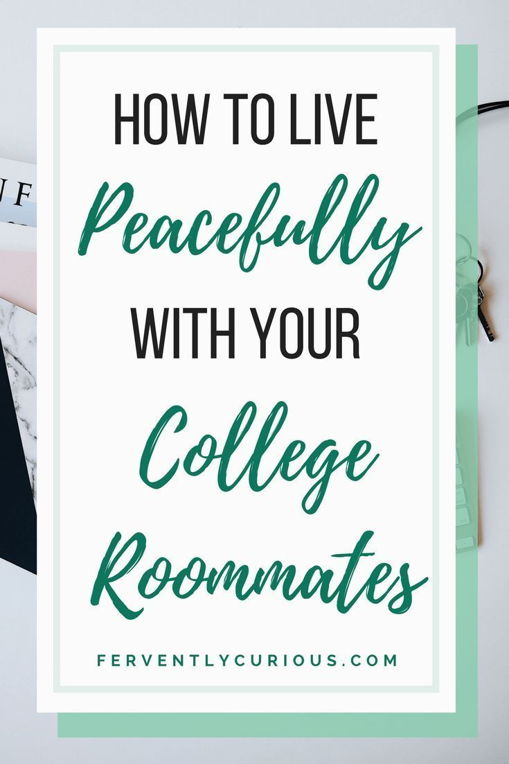 How to live peacefully with your college roommate