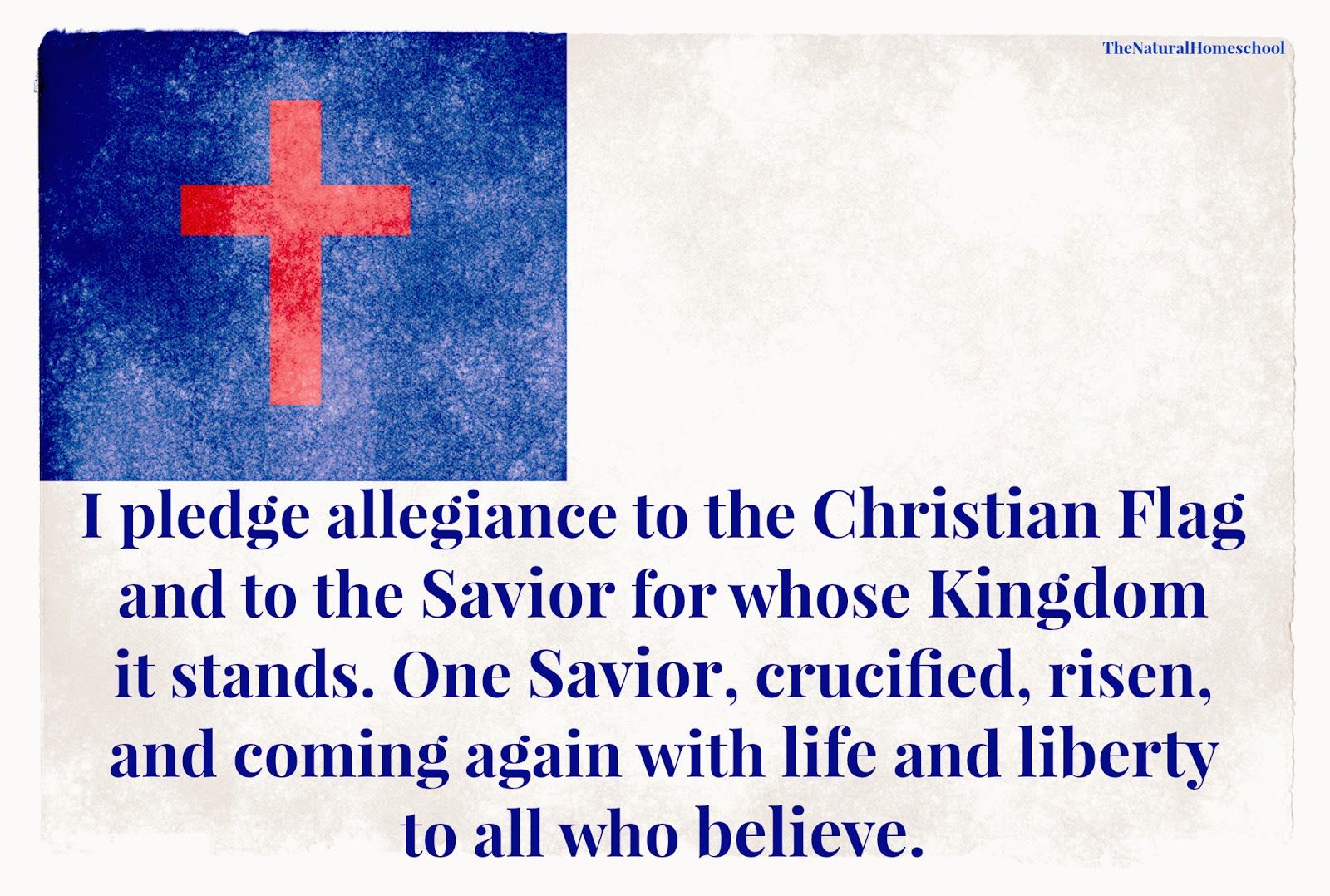 The Best Printables For The Pledge To The American Flag Christian