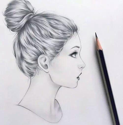 Art beautiful drawing drawings girl heart love for Amazing drawings of girls