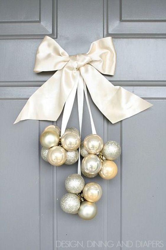 enfeite de porta - Natal - Christmas - decoraçao de Natal