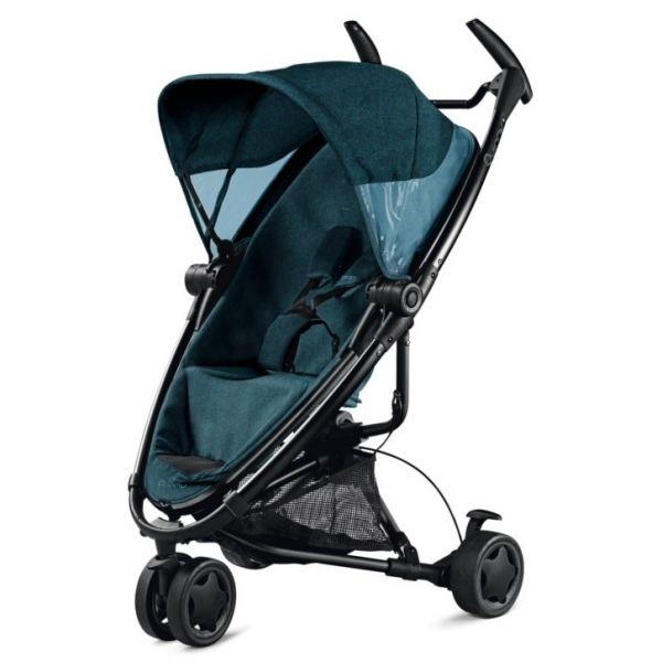 De nieuwe buggy Quinny Zapp Xtra 2 is nu nog flexibeler en compacter gemaakt dan zijn voorgangers. De zitting kan namelijk volledig naar wens worden ingesteld, zodat je kind comfortabel met je mee kan reizen.